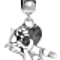 Bling Jewelry Antique Silver Dangling Cupid Charm Bead Pandora Compatible