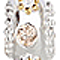 Bling Jewelry Gold 925 Sterling Silver Champagne CZ Bead Pandora Compatible