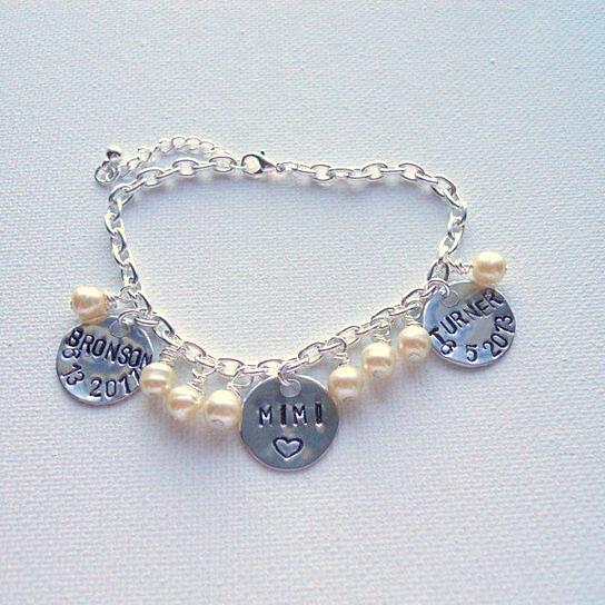 buy personalized charm bracelet bracelet