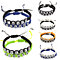 2 Pcs Fashion Adjustable Always Forever Knitted Rope Couple Lover Bracelet