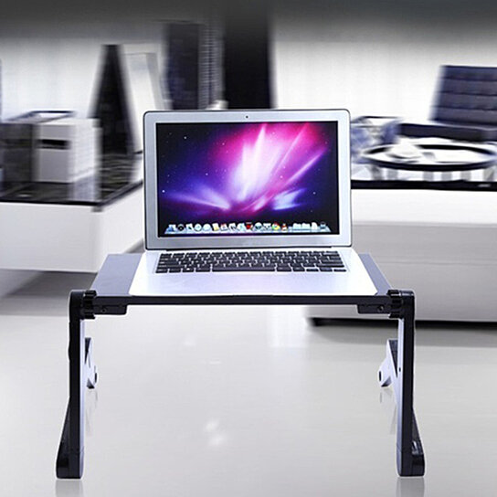 Portable Laptop Desk Lap Table Stand Sofa Bed Tray Computer Notebook Desk 24/""