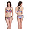 Boho Ethnic Women Sexy Geometric Hollow out Harness Bikini Set Swimsuit Suit