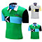 Fashion Men Short Sleeve Color Block Polo Shirt Summer Casual Sport T-Shirt Top