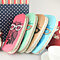Fashion Women Lady Cute Owl Glasses Long Zipper Card Holder Clutch Purse Gift