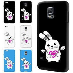 Little Rabbit Print Full Phone Case Cover for iPhone 5 6S Plus Samsung Galaxy S6