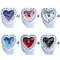 Lovely Lady Girl Silicon Heart-shaped Elastic Quartz Finger Ring Watch Gift