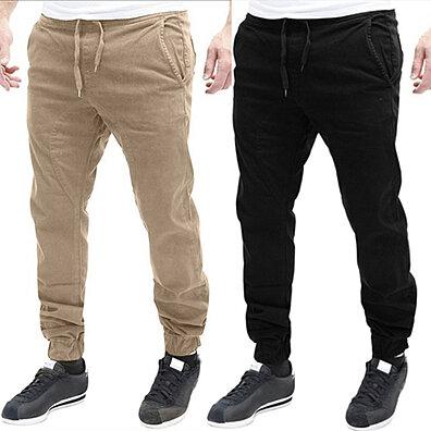 a18a2185c5b0 Men Casual Sport Sweat Pants Training Baggy Jogging Slim Trousers Soft Gift