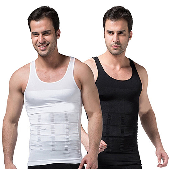 f8c4273c0 Trending product! This item has been added to cart 73 times in the last 24  hours. Men s Slimming Body Shaper Waist Training Corset Tank Top Underwear  ...