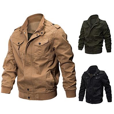 fb7d3e6af Men Winter Military Army Pilot Bomber Jacket Long Sleeve Tactical Coat  Outwear · Bluelans ·  119.98 · Men Body Slimming Tummy Shaper ...