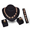 New Fashion 18K Gold Plated Wedding Party Banquet Necklace Jewelry Set Gift