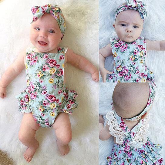 Generous Newborn Baby Girl Headbands Hair Accessories Baby & Toddler Clothing