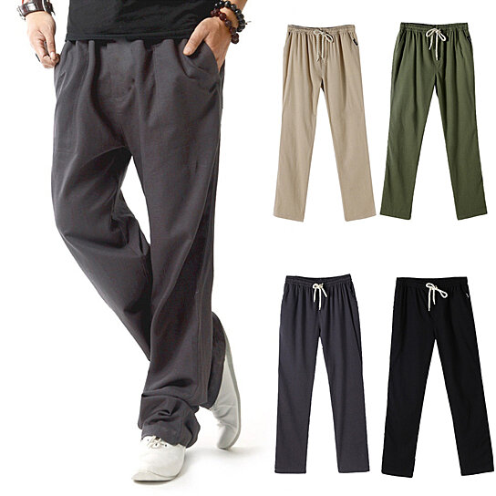 33d3735fb64 Trending product! This item has been added to cart 94 times in the last 24  hours. Summer Linen Super Ventilate Men Casual Loose Plus Size Sports ...