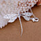 Women Fashion Cute Dragonfly Luxury Necklace Pendant Charms for Xmas Gift