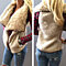 Women Irregular Cardigan Warm Vest Sleeveless Outerwear Gilet Waistcoat Jacket
