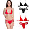 Women's Fashion Summer Halter Harness Hollow Out Swimsuit Swimwear Bikini Set