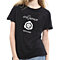 Women's Men's Summer Short Sleeve O-Neck Cotton T-Shirt Letter Print Top Tee