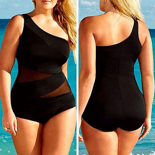 8bc68819df09f Trending product! This item has been added to cart 25 times in the last 24  hours. Women's Sexy Plus Size Swimsuit Siamese Shoulder Monokini One Piece  ...