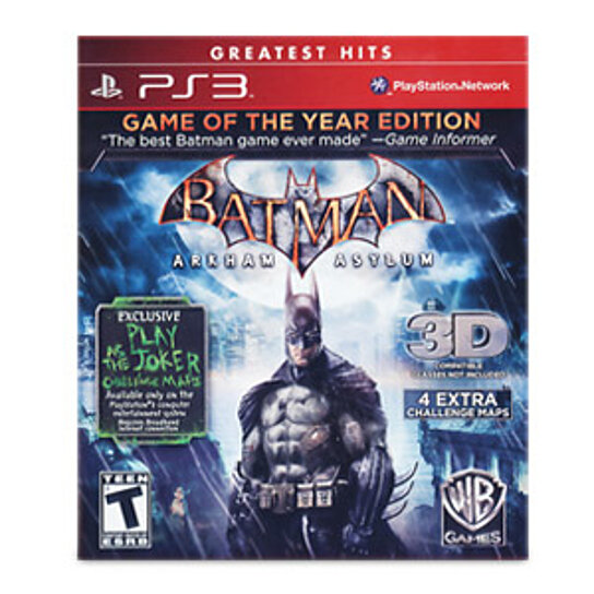 buy batman arkham asylum game of the year edition