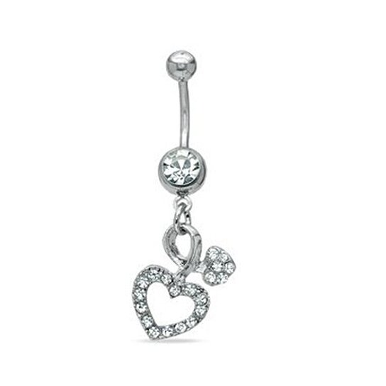 buy belly ring dangle 14g belly button navel