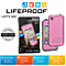 Lifeproof fre Waterproof Protective Case For iPhone 4/4S Pink Gray