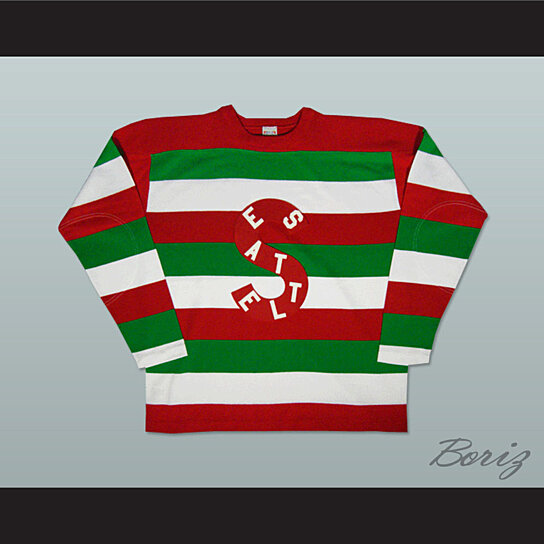 Buy Seattle Metropolitans Old School Hockey Jersey New Any