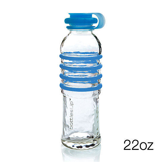 buy 22 ounce glass water bottle by bottlesup on opensky. Black Bedroom Furniture Sets. Home Design Ideas