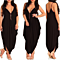 Backless V-Neck Jumpsuit, Cute and Casual