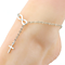 Fashion Cross Cute Bow Anklet