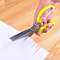 Herb Scissors Multifunctional Kitchen Shear with 5 Blades and Cleaning Comb��Color: Random��