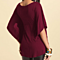 Large Size Loose V-neck T-shirt Sleeve