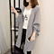 Long Paragraph Loose Cardigan