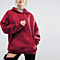 Solid Color Sport Bat Sweater