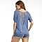 Summer Jacket Empty Lace T-Shirt
