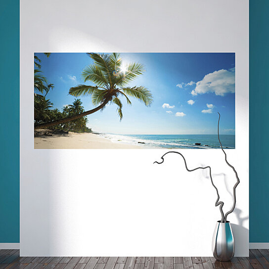 Buy sea paradise wall mural by wallpops on opensky for Dolphins paradise wall mural