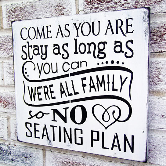 buy come as you are no seating plan sign wedding signs beach wedding signs country weddingseating chart reception ceremony decor by