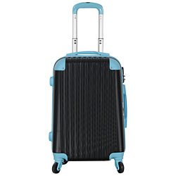 Hardside Spinner Two-Tone Luggage Carry-On #808
