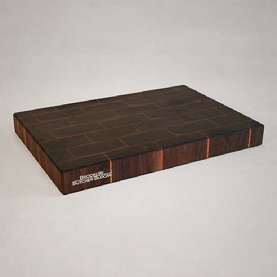 buy handcrafted brickwork cutting board by nils wessell of