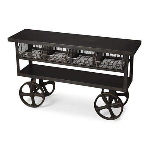 Butler Antietam Industrial Chic Trolley Buffet