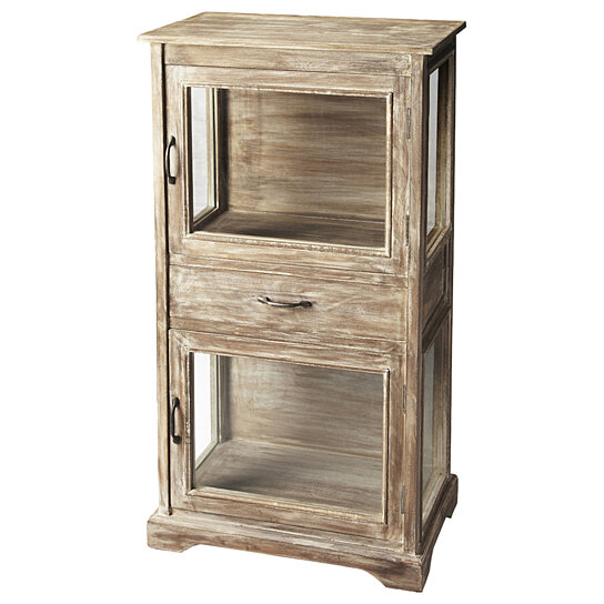 Buy Butler Hardin Rustic Display Cabinet By Butler Specialty On Dot U0026 Bo