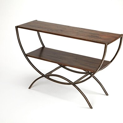 Butler Harmony Industrial Console Table