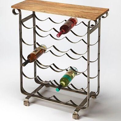 Butler Landry Industrial Chic Wine Rack