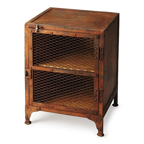 Butler Lucas Industrial Chic Chairside Chest