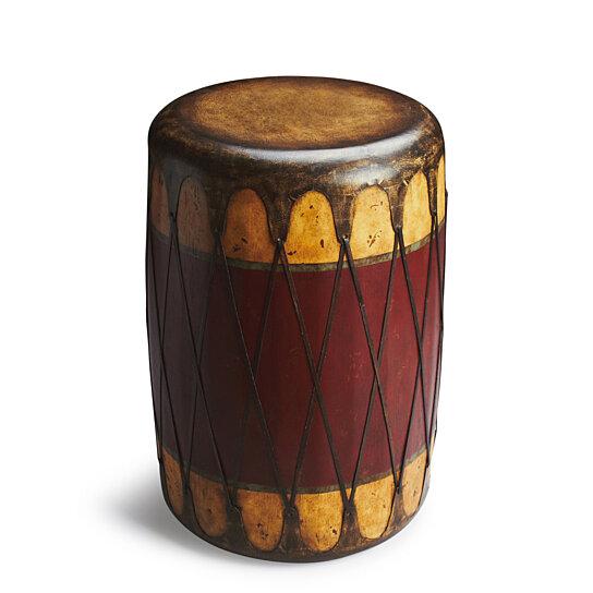 Phenomenal Butler Navajo Leather Drum Table Ibusinesslaw Wood Chair Design Ideas Ibusinesslaworg