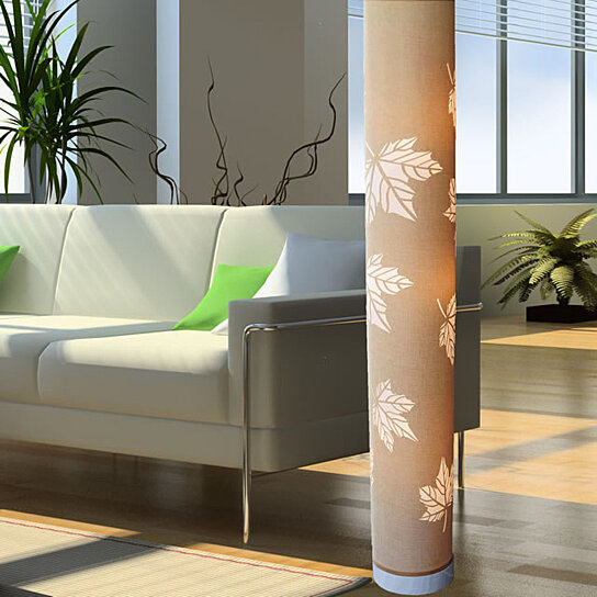 Buy New Beige Cylinder Modern Contemporary Floor Lamp Zk003l Decor Art Design Lighting For