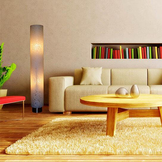Buy White Flower Patten Floor Lamp Jk107l Modern Contemporary Art Decor Design Lighting For