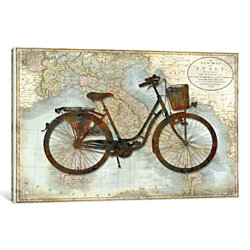 Bike Italy by Amanda Wade Canvas Print