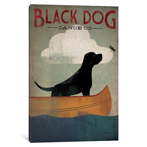 Black Dog Canoe Co. I by Ryan Fowler