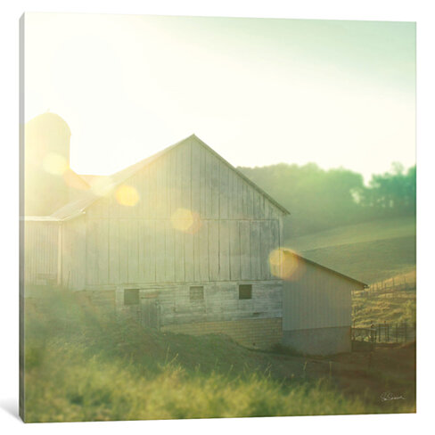 Farm Morning II by Sue Schlabach
