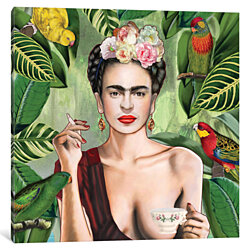Frida Con Amigos by Nettsch Canvas Print