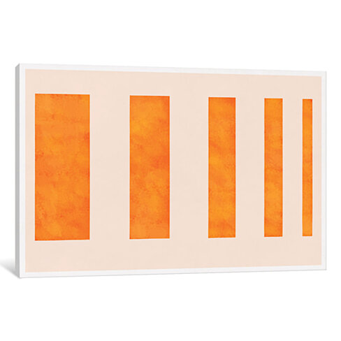 Modern Art - Orange Levies by 5by5collective